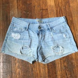 Super soft Light Denim 100% Cotton shorts